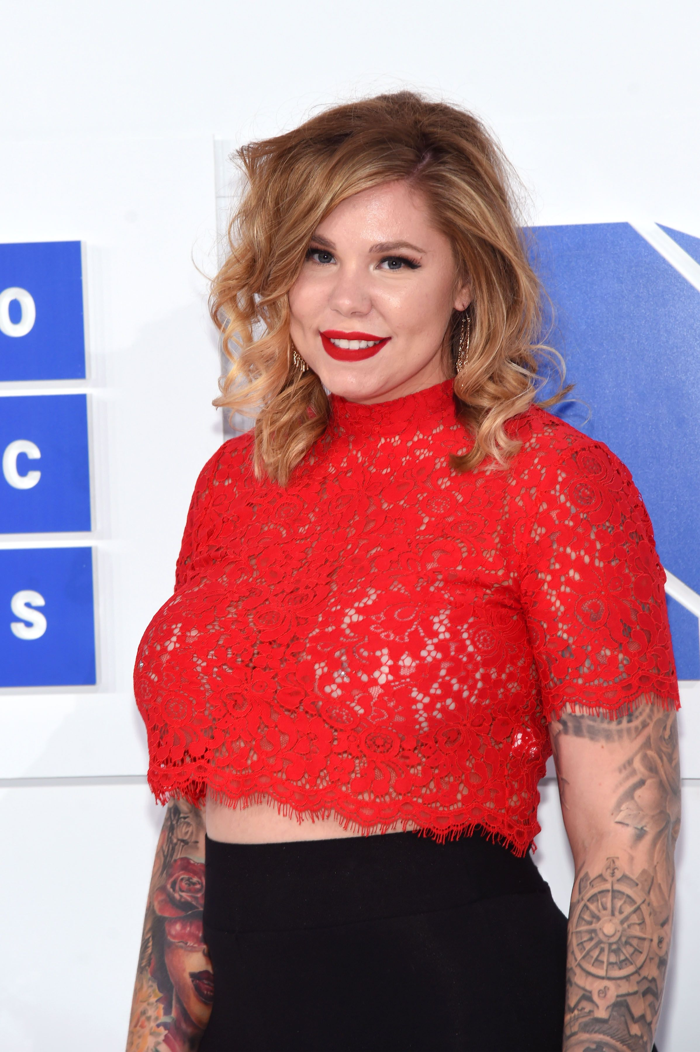 Kailyn Lowry smiling