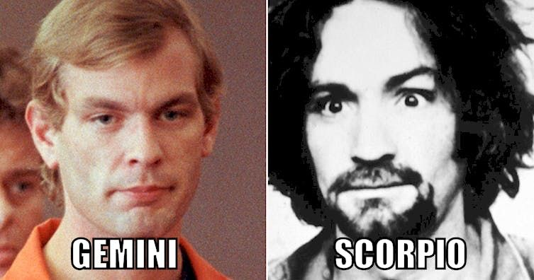 What Serial Killer Would You Be Based On Your Zodiac Sign?