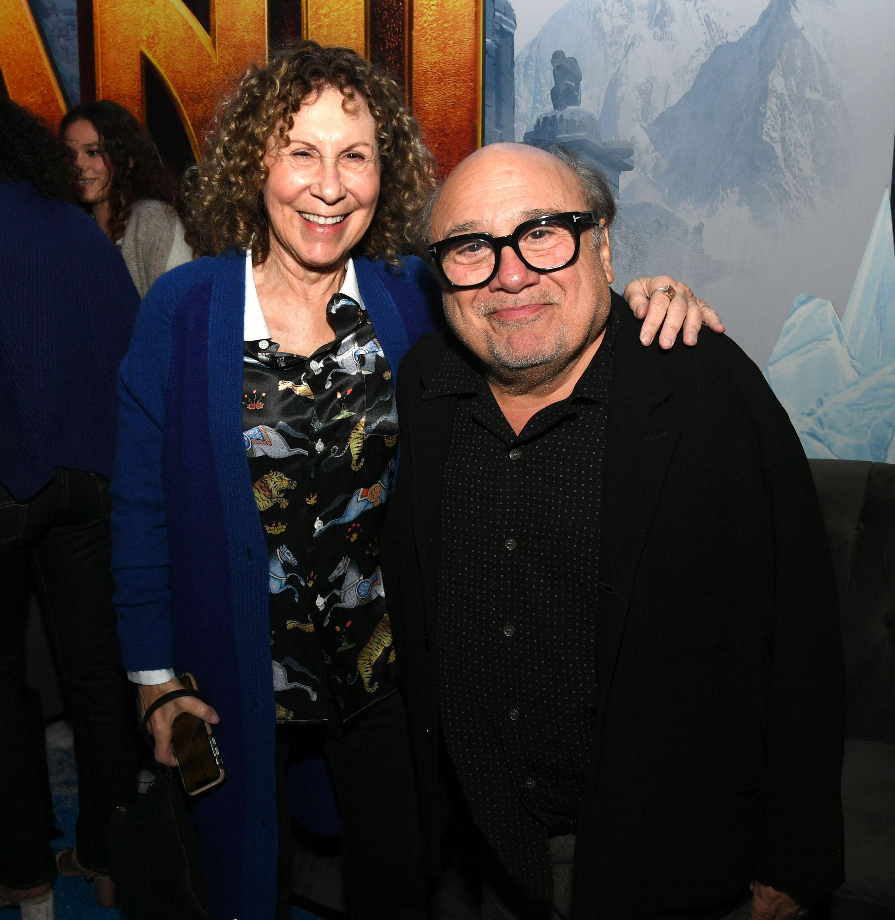 """Rhea Perlman and Danny DeVito met in 1971, years before they worked together on the sitcom """"Taxi."""""""
