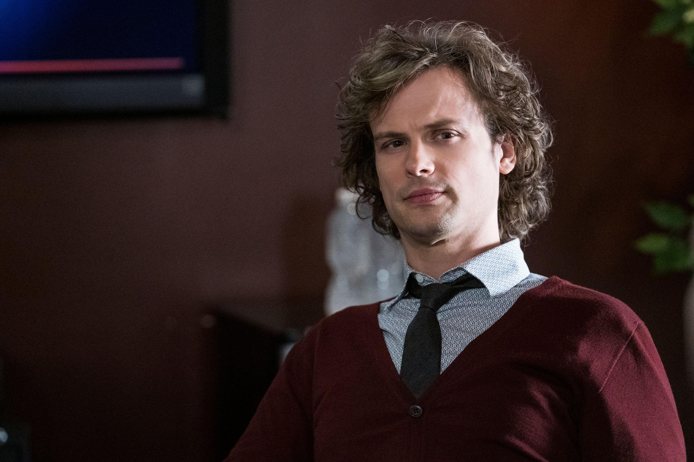 Matthew Gray Gubler as Dr. Spencer Reid on Criminal Minds.
