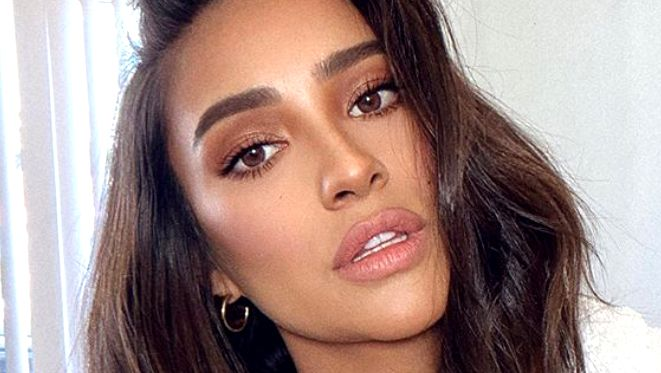 Shay Mitchell looks gorgeous on Instagram