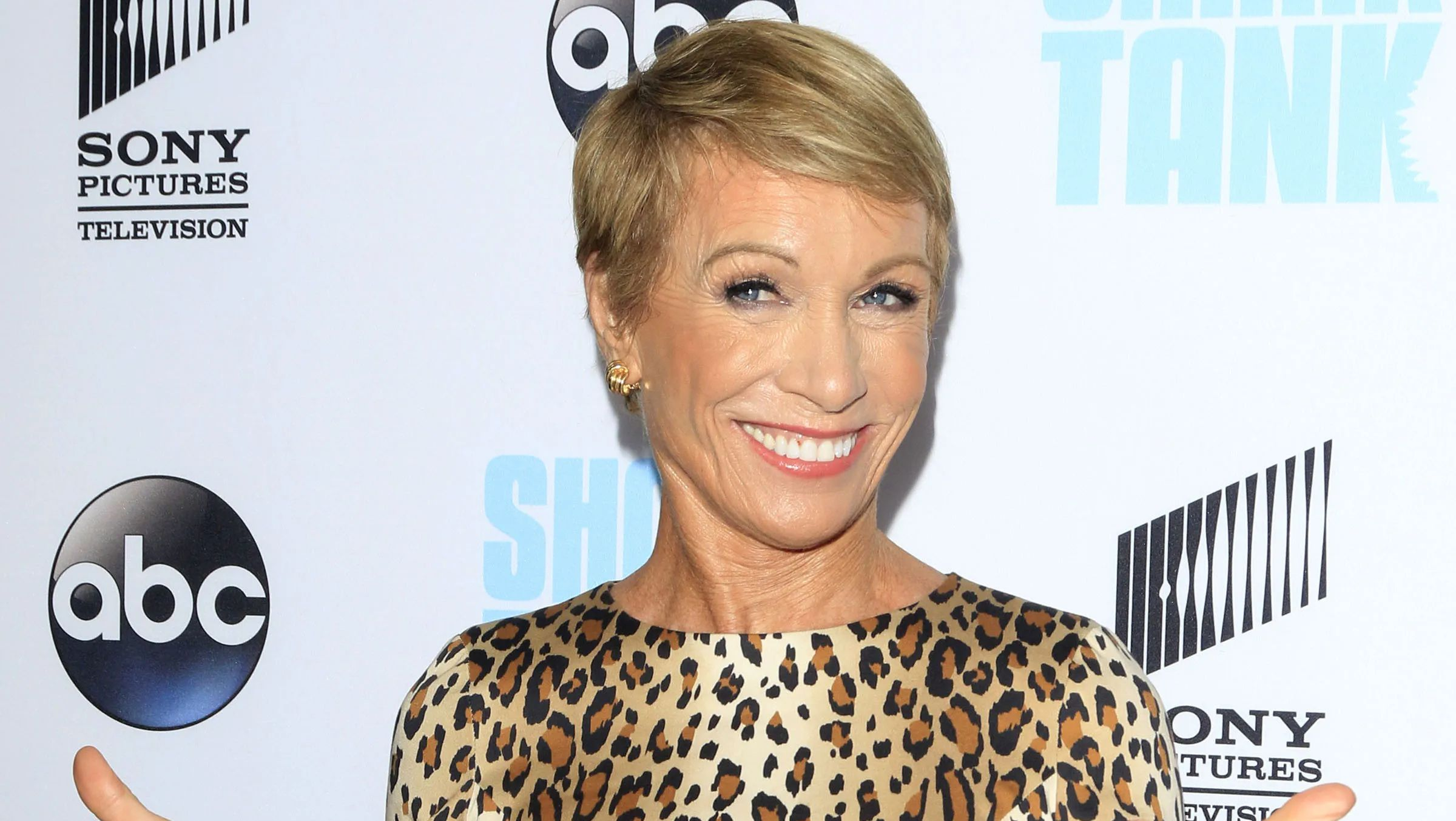 Barbara Corcoran at an event