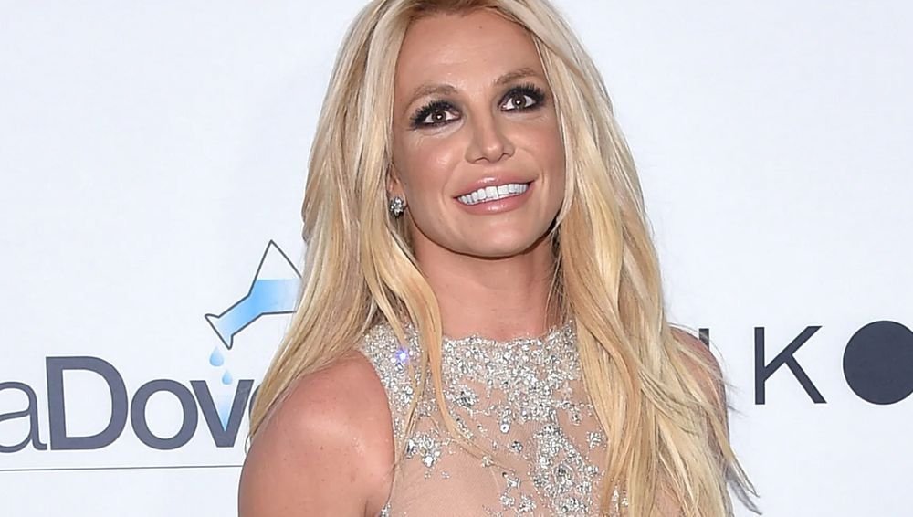 Britney Spears smiling close up