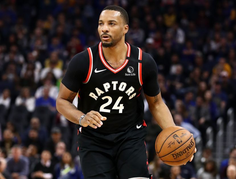 Norman Powell leading the Raptors' offense
