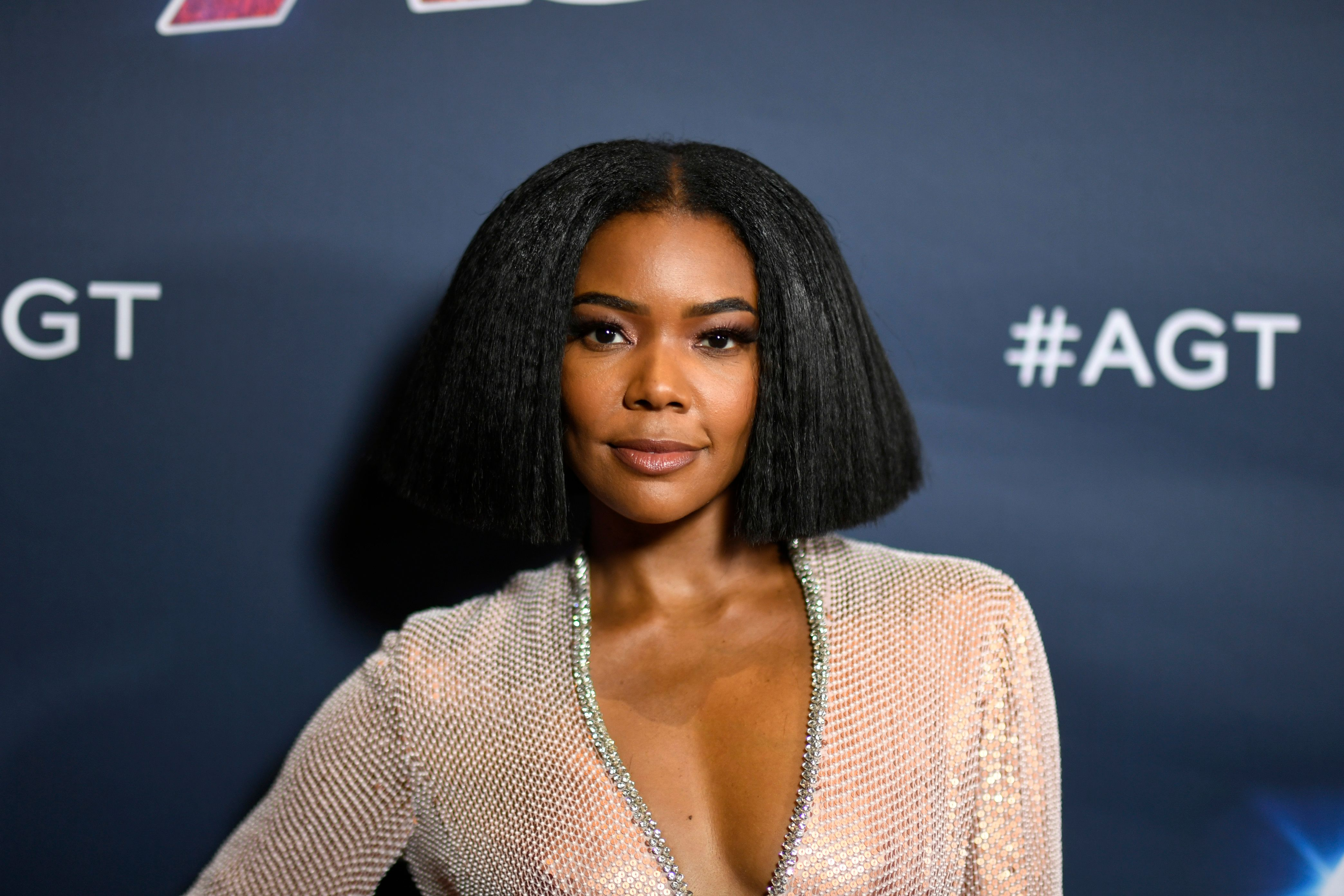Gabrielle Union poses for photographers