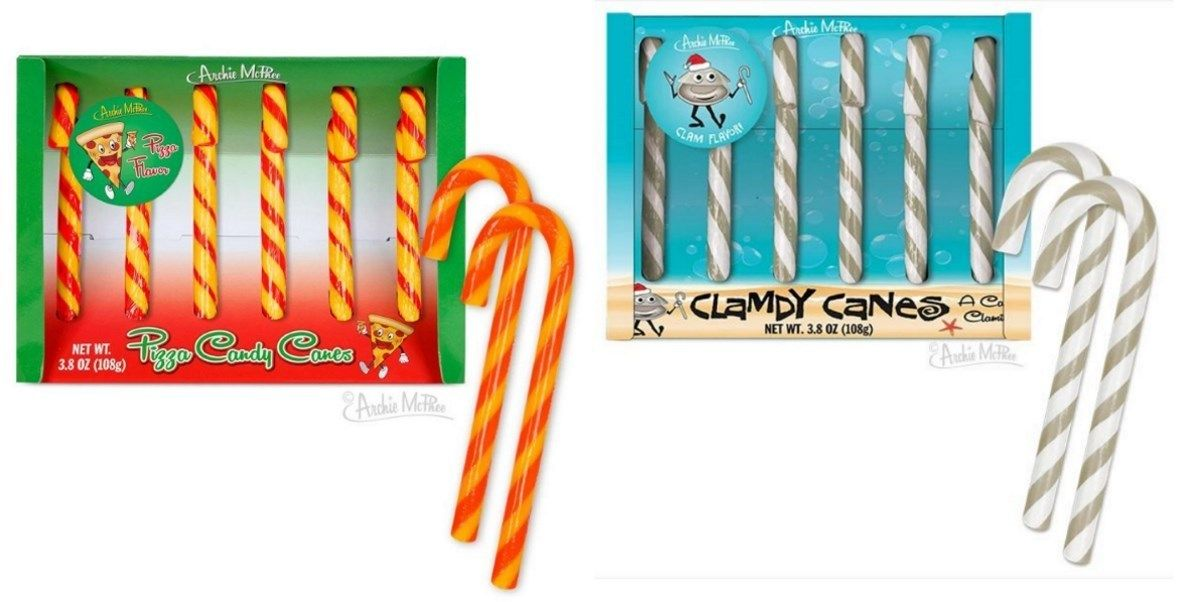 pizza candy cane flavors