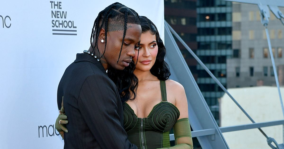 Kylie Jenner Spends '24 Hours In NYC' With Travis Scott In A Stunning Green Dress