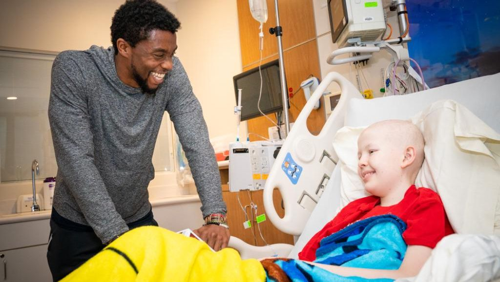 Black Panther' Star Chadwick Boseman Met With Terminally Ill Kids, While Suffering With Cancer