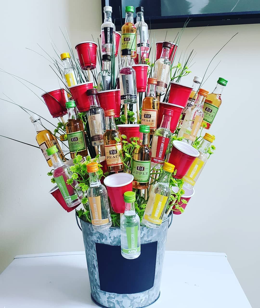 A Booze Filled Bouquet Is Sure To Put Moms In A Good Mood On Mother S Day