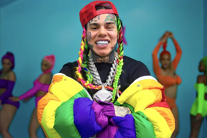 Tekashi 6ix9ine in his new music view