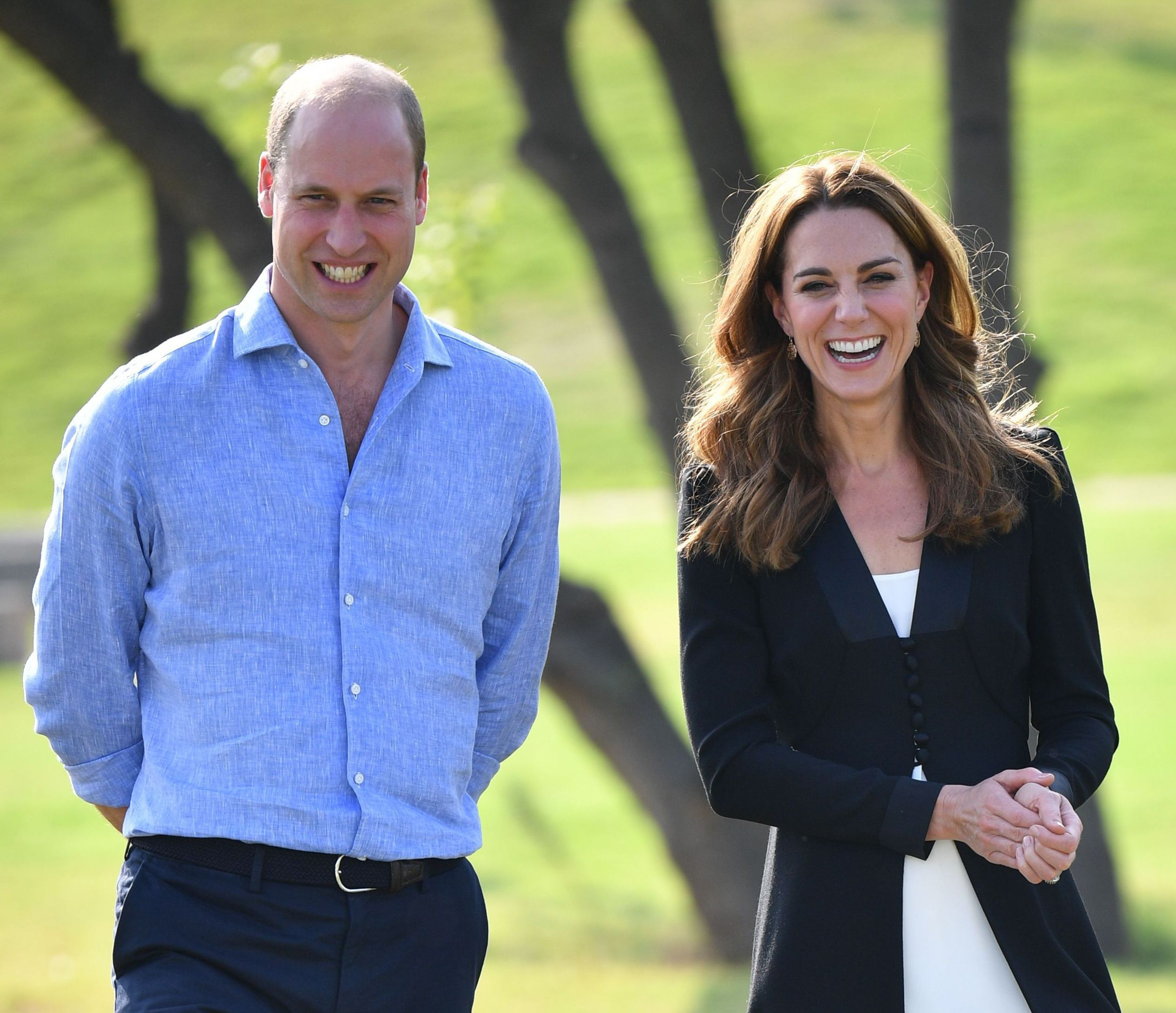 Prince William and Kate Middleton on tour