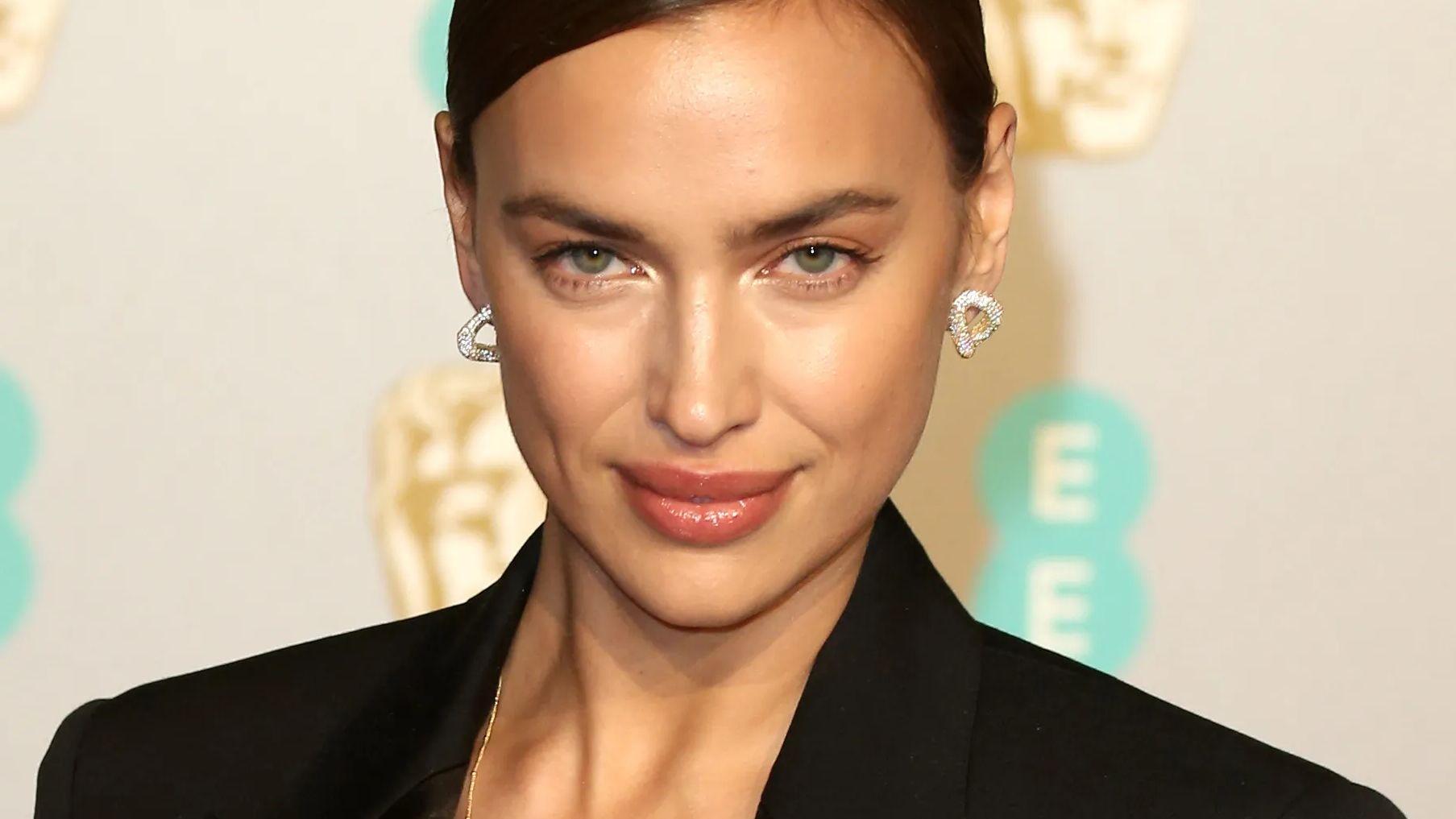 Irina Shayk close up