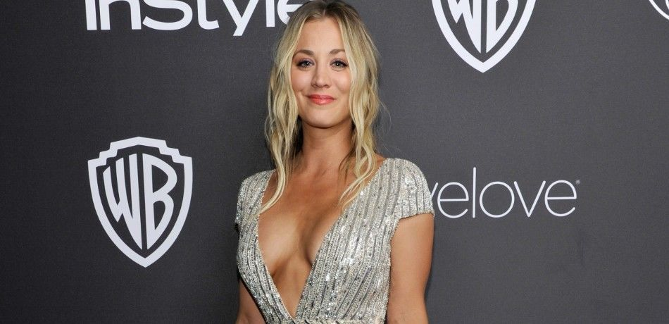 Kaley Cuoco at an event