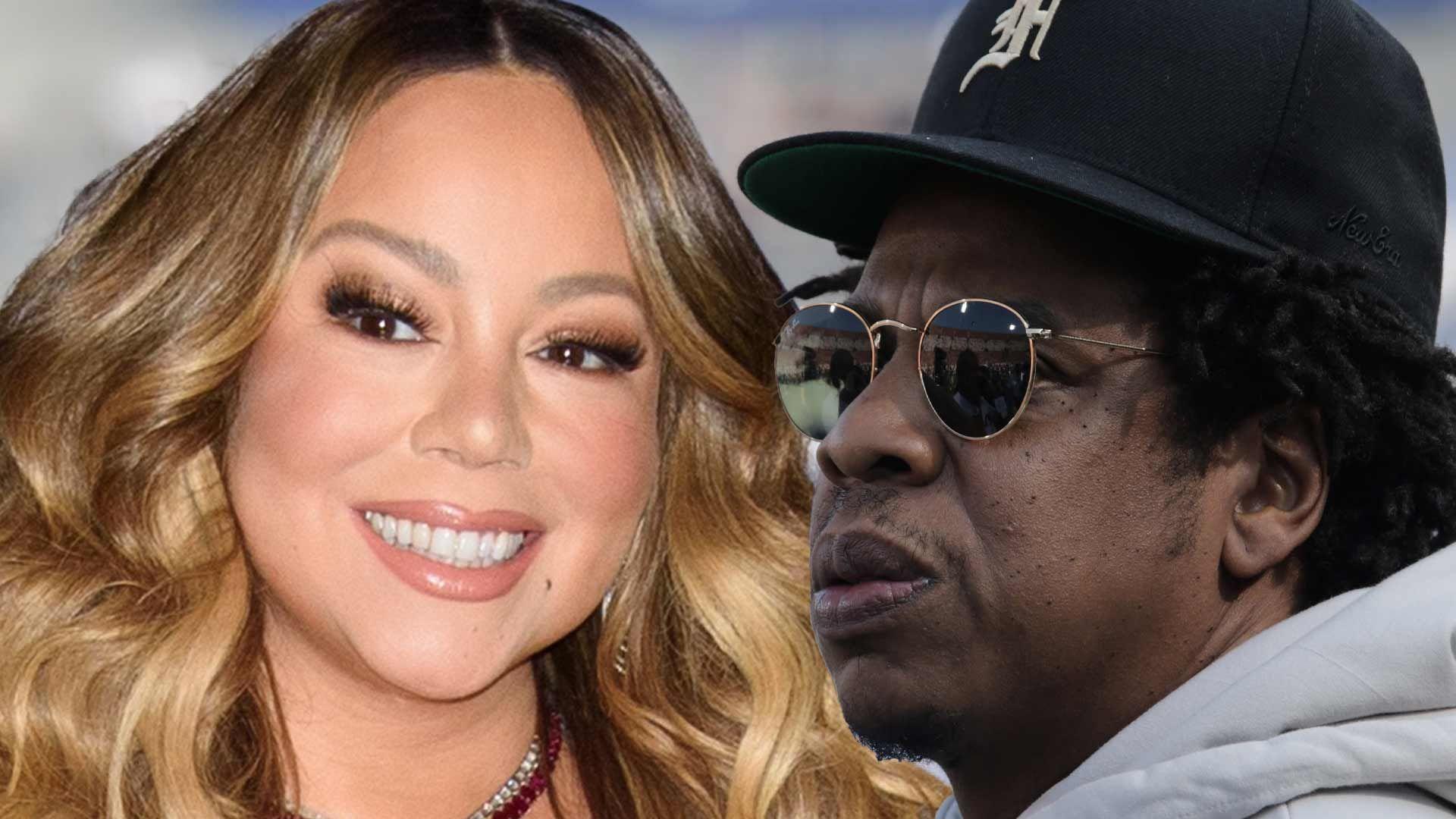 Mariah Carey and Jay-Z