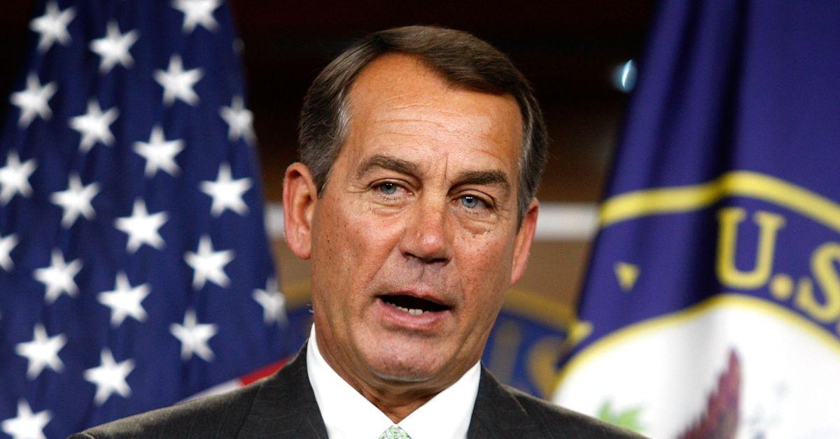 John Boehner To Chuck Todd: 'You're A Sh*t'