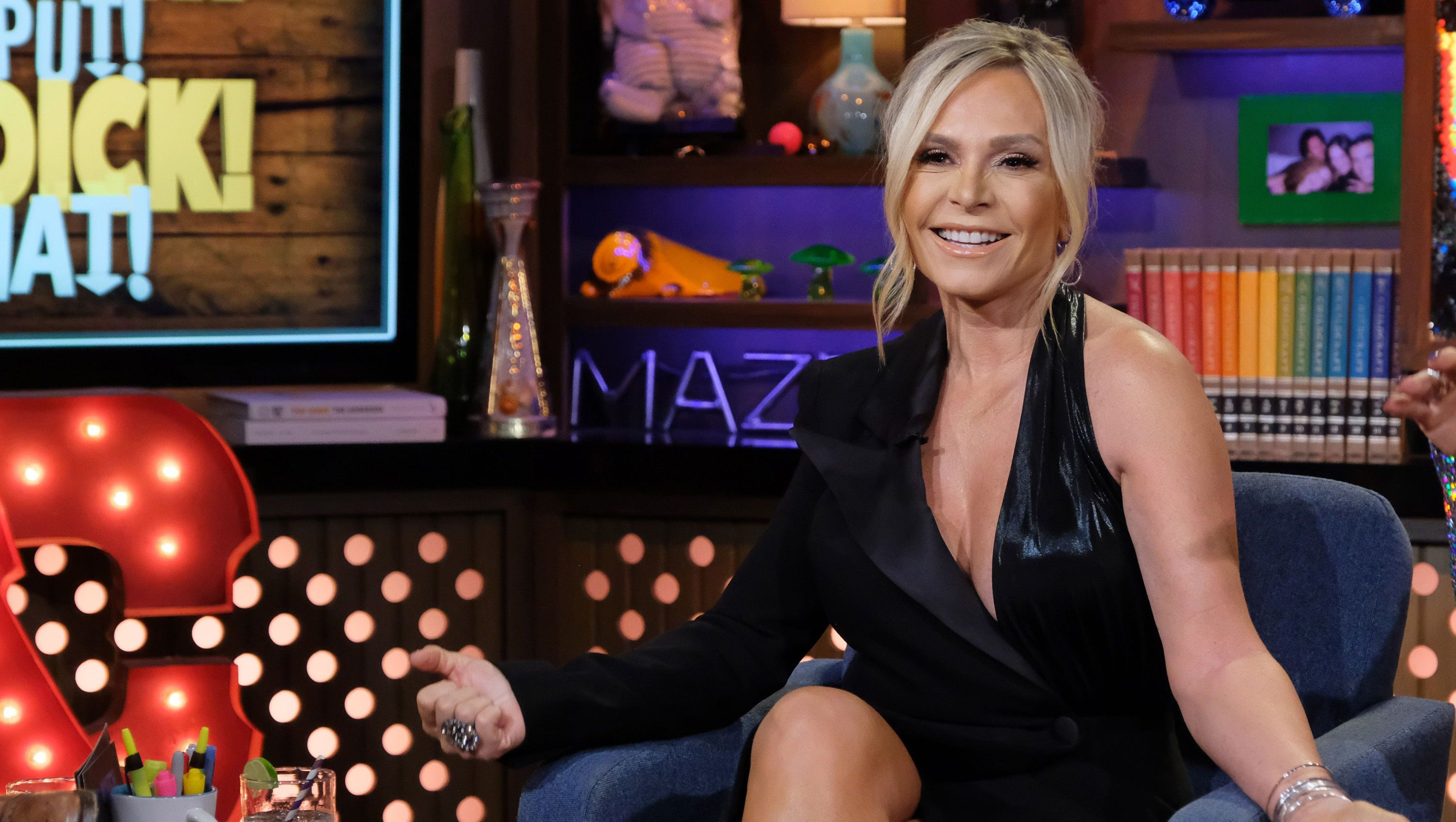 Tamra Judge is seen on 'Watch What Happens Live.'