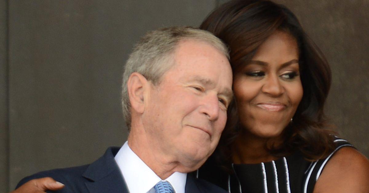 George W. Bush Talks Friendship With Michelle Obama