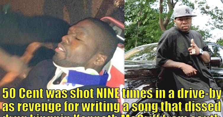 The Real Story Why 50 Cent Was Shot Nine Times