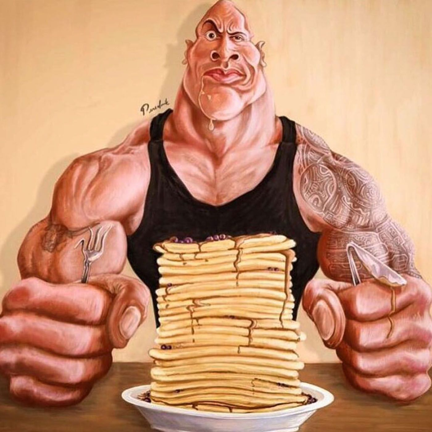 Dwayne 'The Rock' Johnson's Pancake Cheat Meals