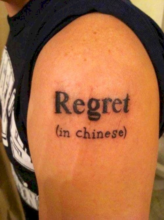 22 Terrible Tattoo Translation Fails That Spell R-E-G-R-E-T