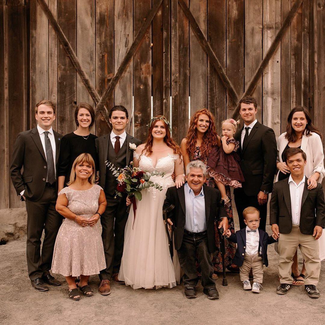 Little People Big World Star Jacob Roloff Marries Sofia Rock At Family Farm