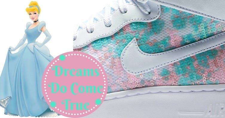 2b355e28 Nike Just Launched A Cinderella Sneaker, And You'll Never Have To ...