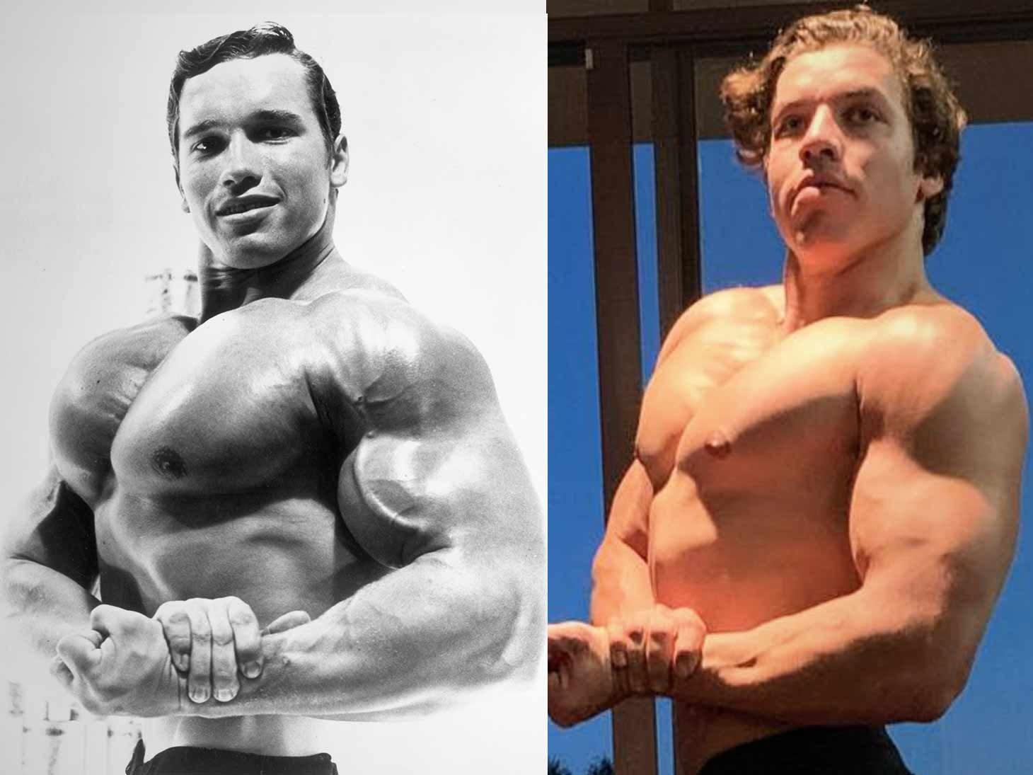 Arnold Schwarzenegger's Son Strikes Another One of His