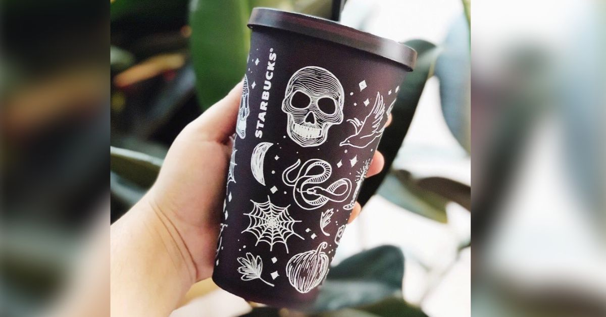 The Newest Starbucks Halloween Cup Is Perfect For Sipping