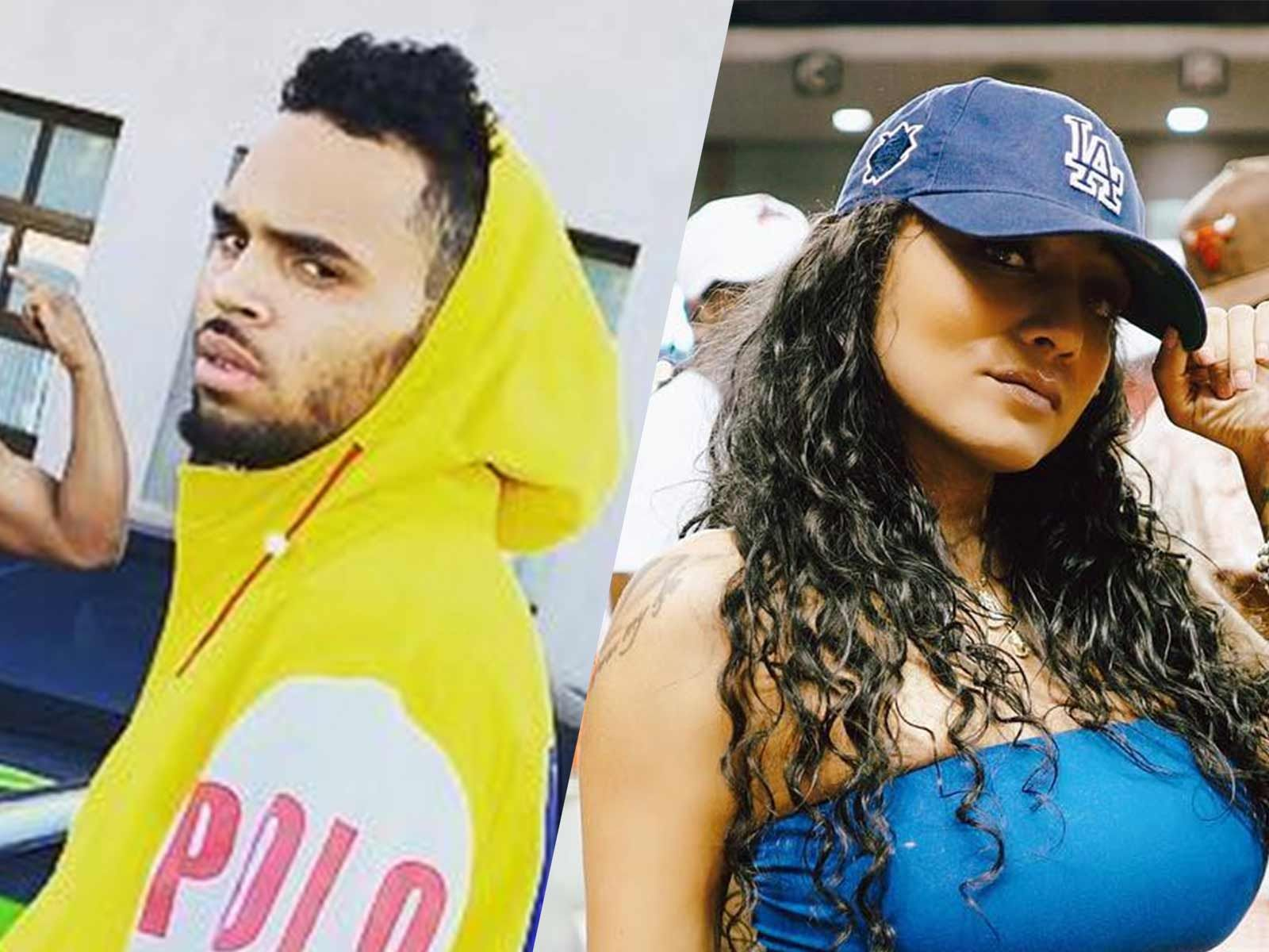 Chris Brown's Baby Mama is Worried Over Fans Shouting At