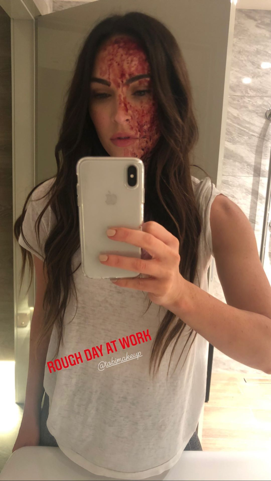 Megan Fox Shows Off Her Rough Day While Ex-Hubby Sends Motherly Reminders