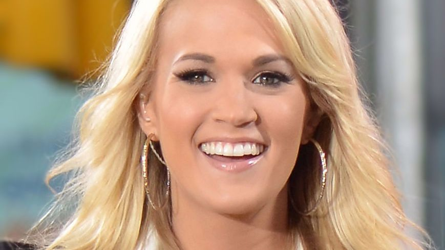 Carrie Underwood smiling close up