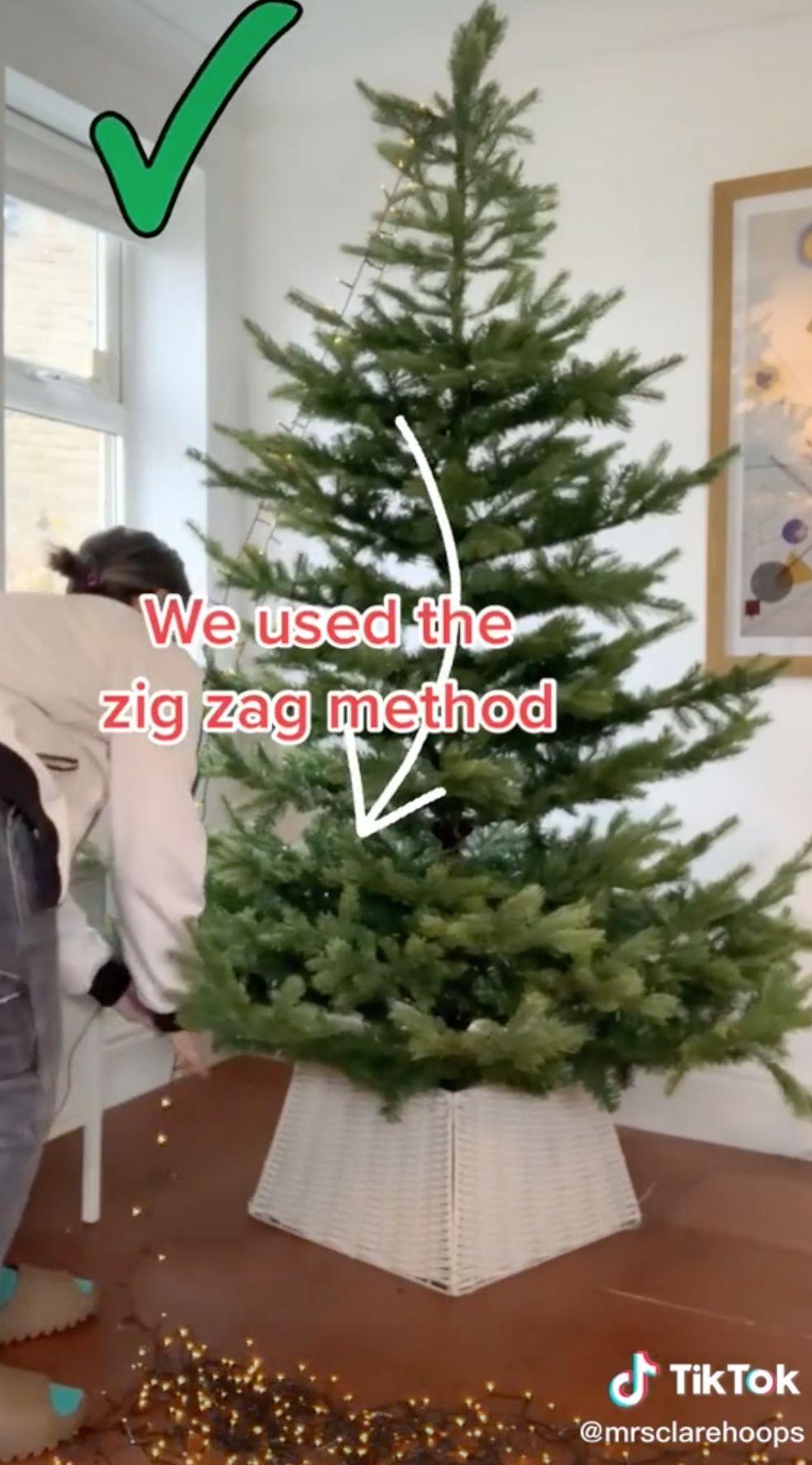 Tiktok Hack Proves We Ve Been Hanging Christmas Lights The Wrong Way