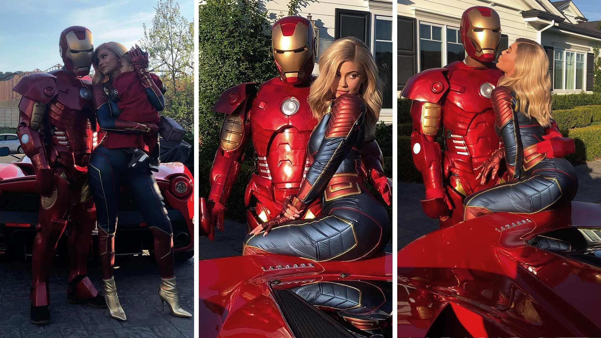 Kylie Jenner Throws Travis Scott An Avengers Themed Birthday Bash Captain marvel could be as huge as dc comics' wonder woman. kylie jenner throws travis scott an