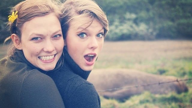 Karlie Kloss and Taylor Swift on their inaugural road trip to Big Sur
