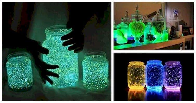 These Glow Jars Make Awesome Diy Night Lights