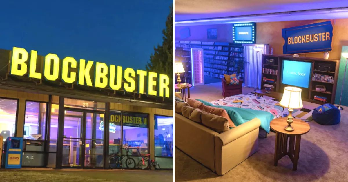 Have The Ultimate 90s Sleepover In The Last Blockbuster Thanks To Airbnb