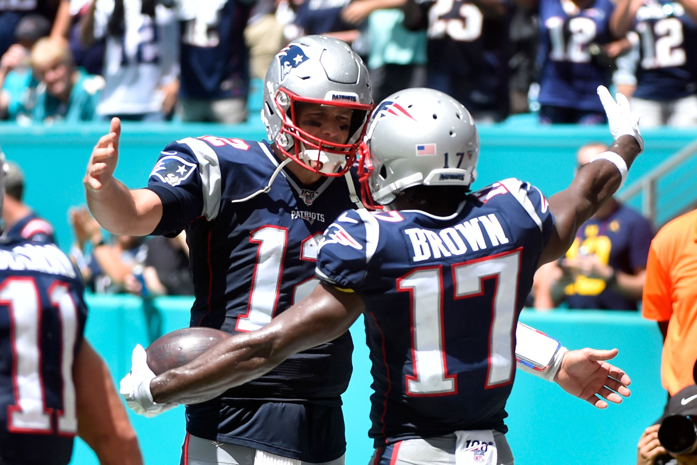 the best attitude 4c66f be9fa Antonio Brown Quotes Rapper Nipsey Hussle After Patriots ...