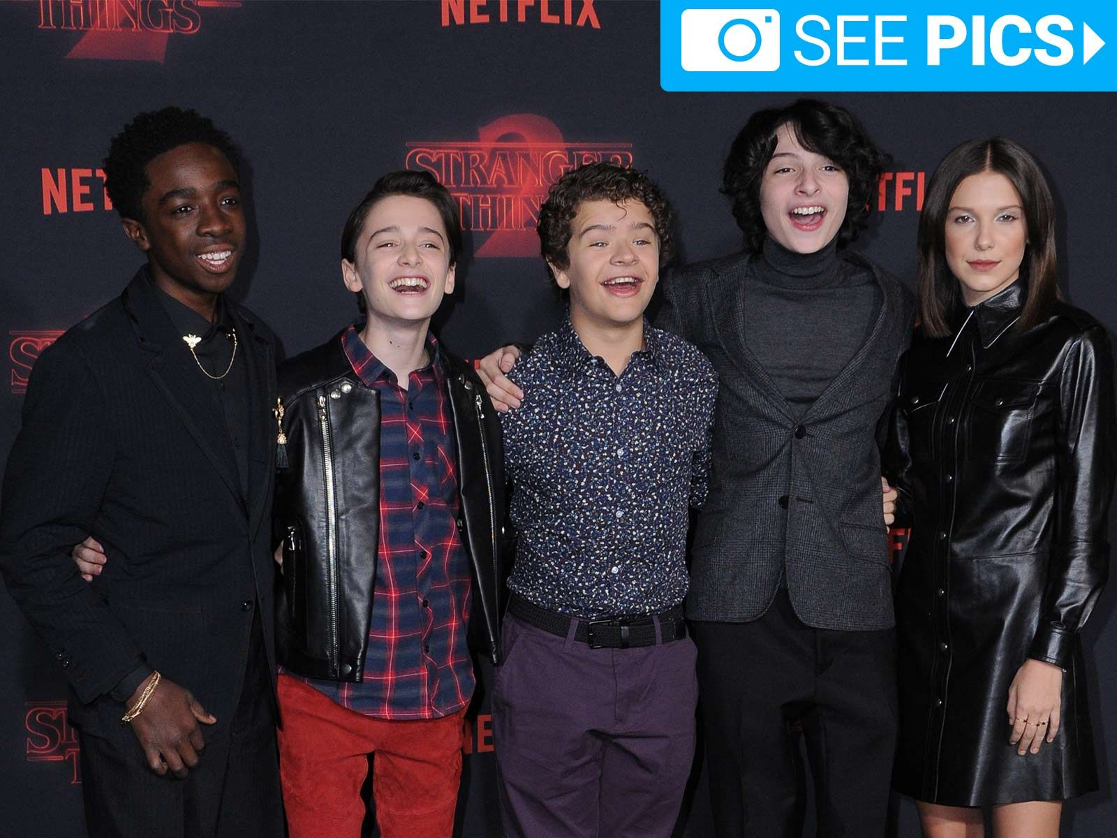 Stranger Things Cast Celebrates Season 2 Instead Of Binge