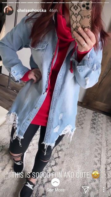 Chelsea Houska Dubbed Cheap In Distressed Look Rag Bin Clothes