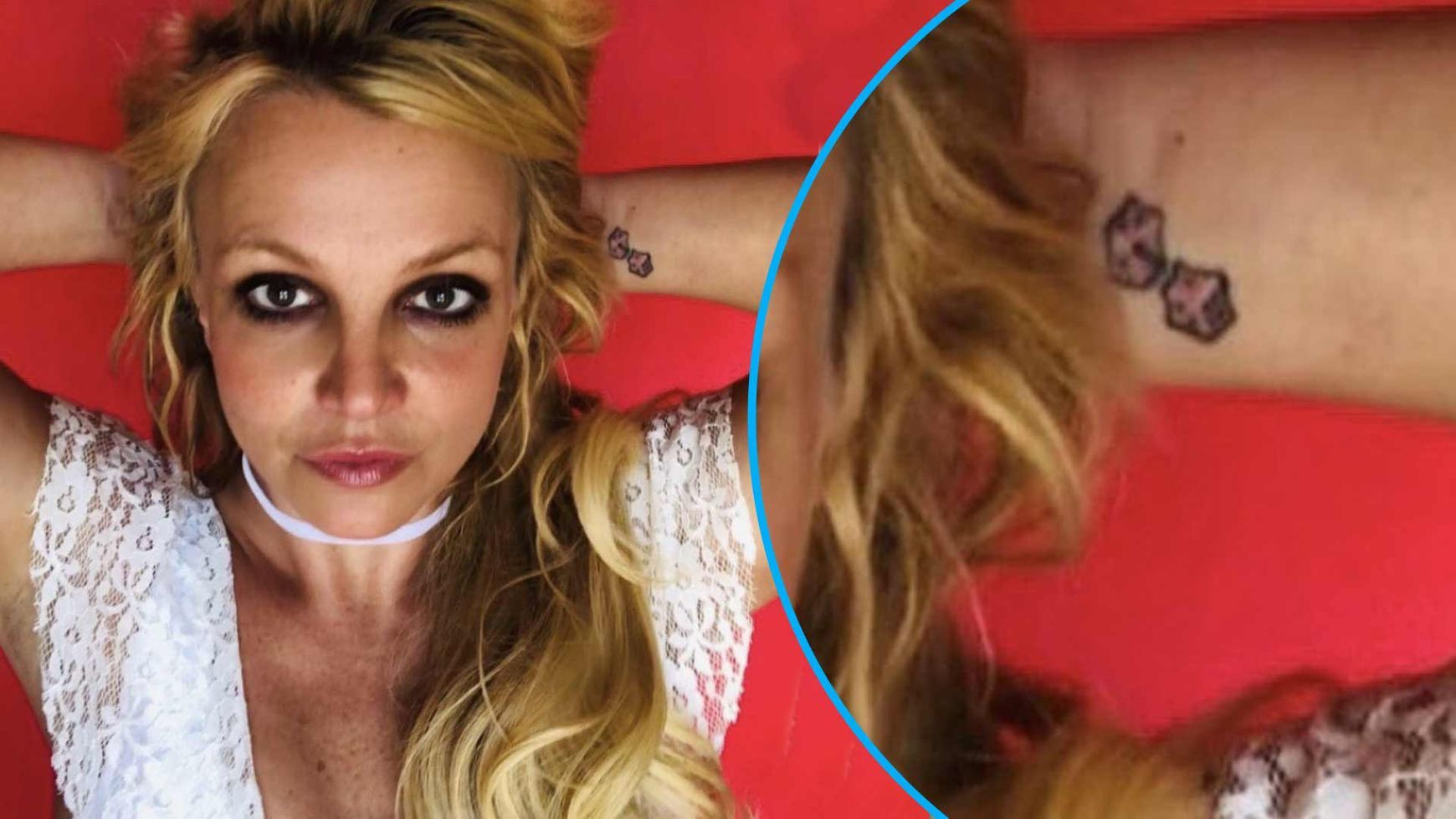 Britney Spears Crowned Queen Of Deja Vu After Teasing Dice Tattoo Removal Again