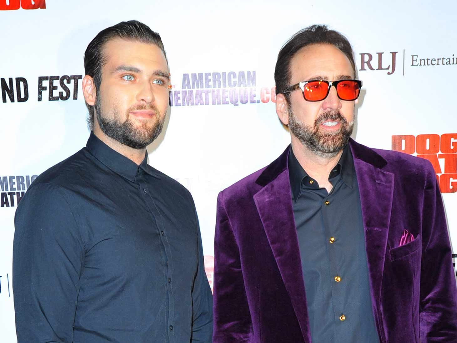 Nicolas Cage Paying Child Support for His Grandchildren in