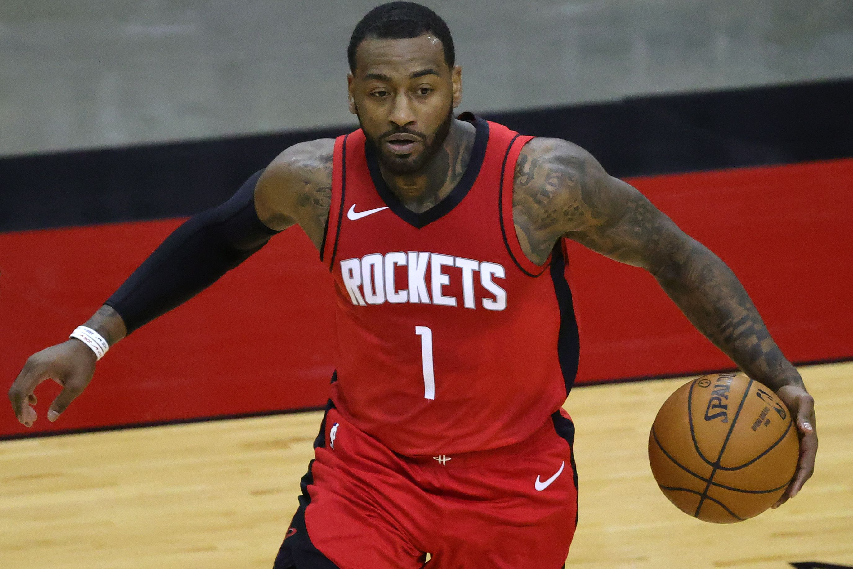 John Wall making plays for the Rockets