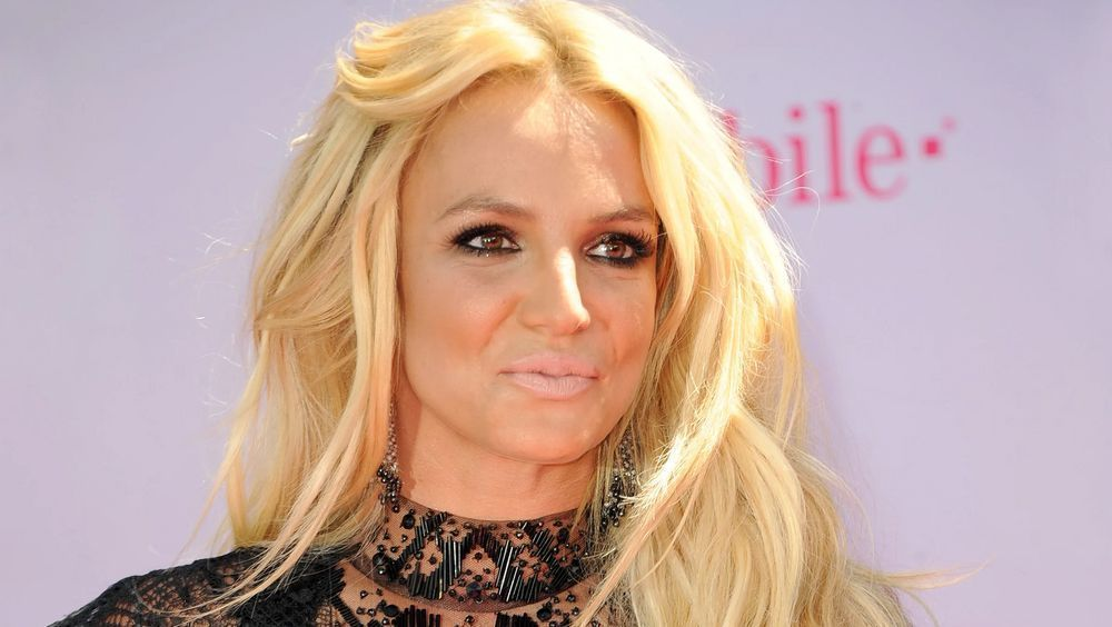 Britney Spears close up
