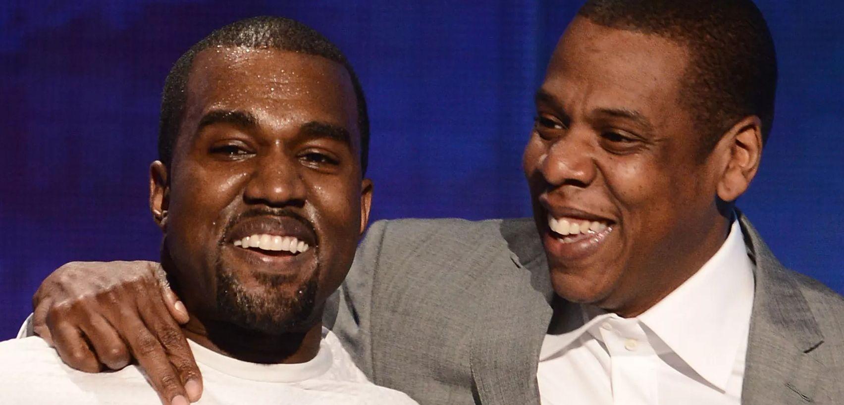 Kanye West & Jay-Z on stage