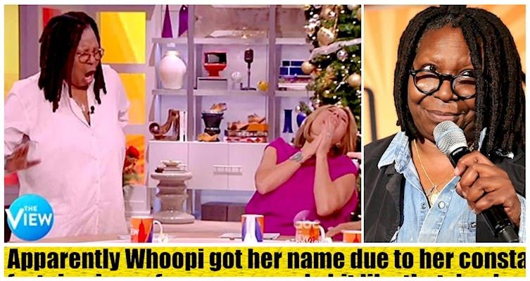Whoopi Goldberg Opens Up About Her Bizarre Stage Name