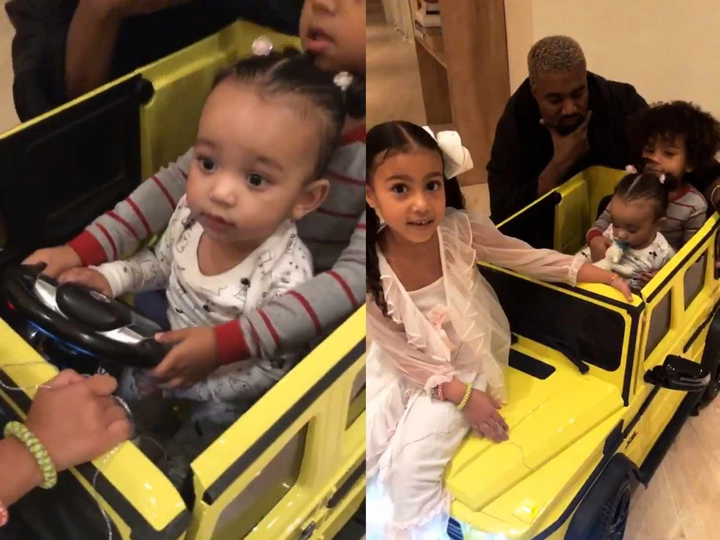 Chicago West Matches Mommy Kim Kardashian With New Neon G