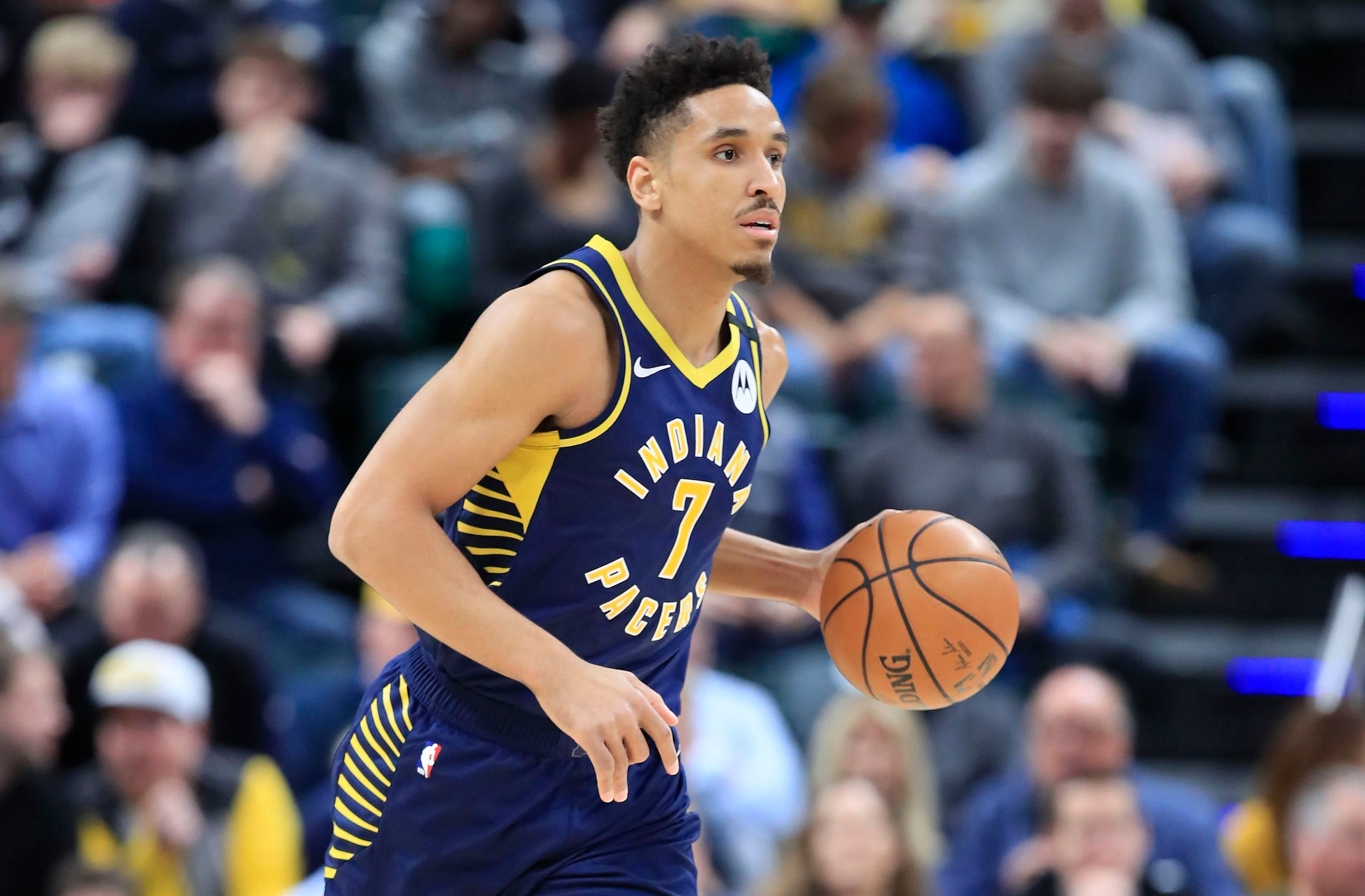 Malcolm Brogdon making plays for the Pacers