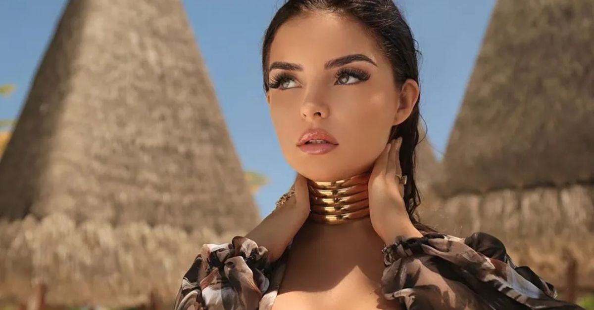Demi Rose Pulls Thong Bikini Sky-High In Compromising Pose - The Blast