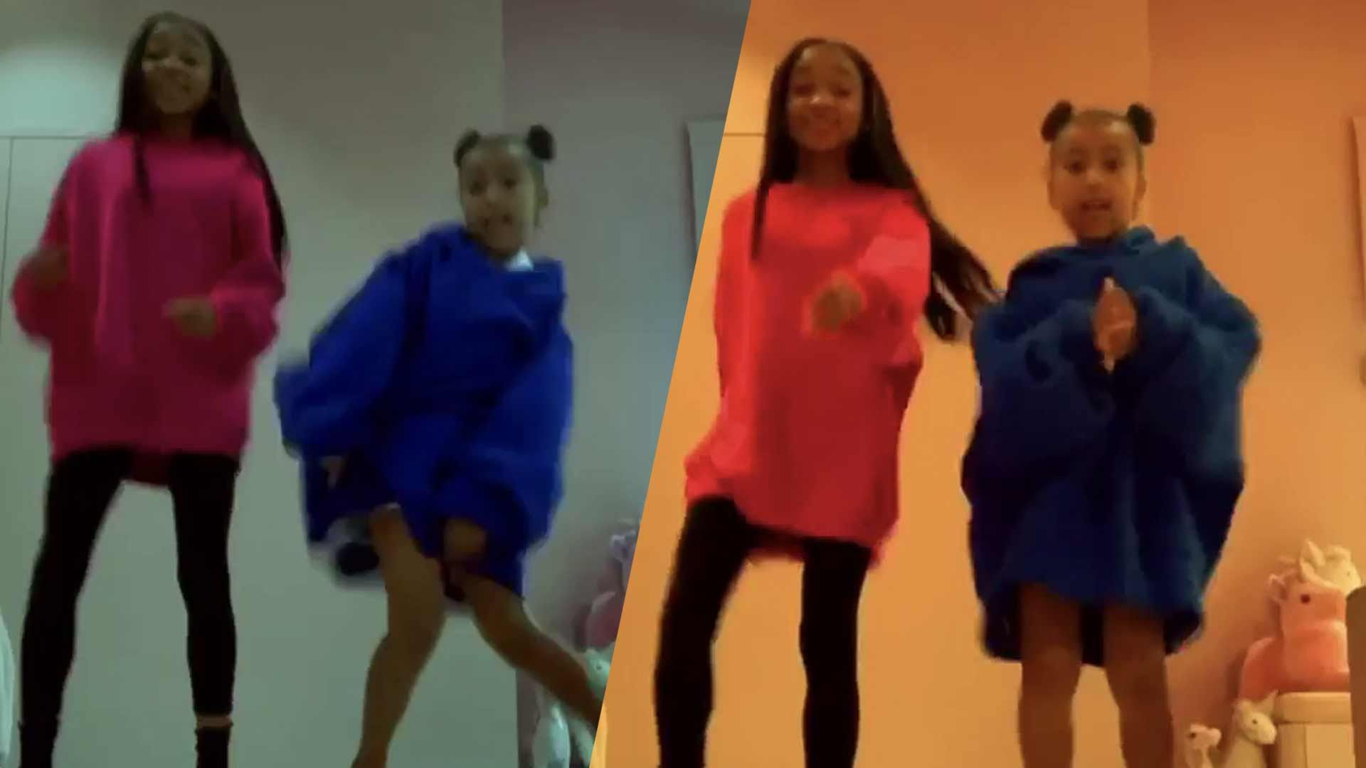 North West Stars In Awesome Tiktok Video With Kid Rapper That Girl