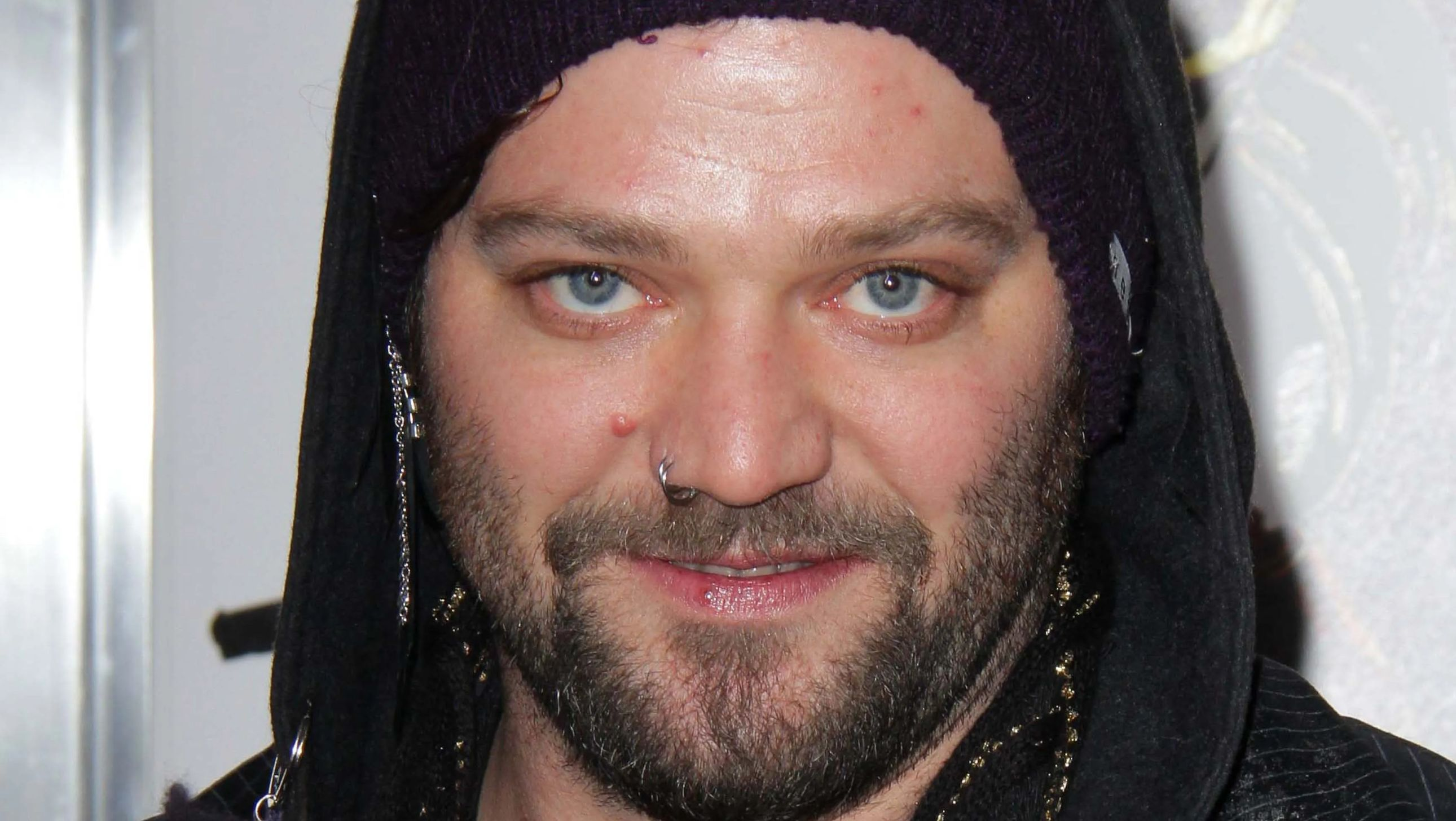 Bam Margera on red carpet
